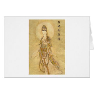 Kwan Yin The Goddess of Compassion Greeting Card