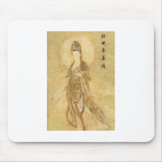 Kwan Yin The Goddess of Compassion Mouse Pad