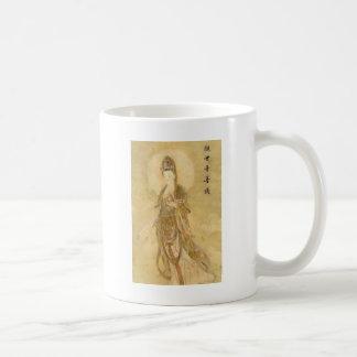 Kwan Yin The Goddess of Compassion Classic White Coffee Mug
