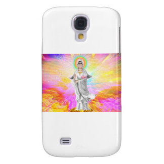 Kwan Yin The Goddess of Compassion With Pink Samsung Galaxy S4 Covers