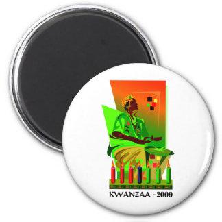 Kwanzaa 2009 2 inch round magnet