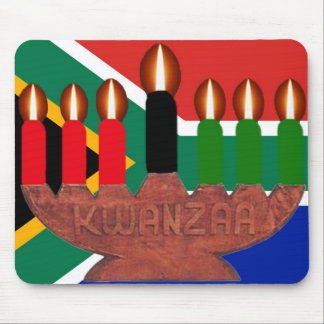 kwanzaa africa mouse pad