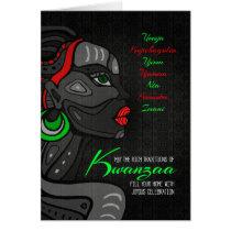 Kwanzaa African American Seven Principles Card