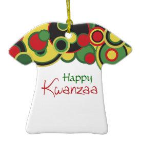 Kwanzaa African Caftan Ornament ornament