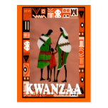 Kwanzaa - African family Post Cards