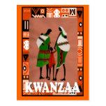 Kwanzaa - African family Postcard