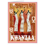 Kwanzaa, African ladies Greeting Cards
