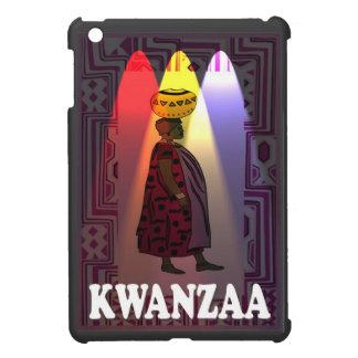 Kwanzaa, agua que lleva de la señora