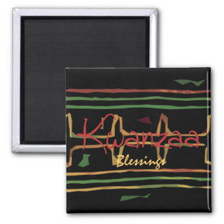 Kwanzaa Blessings Fridge Magnet