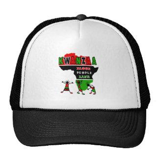 Kwanzaa Blood People Land Mesh Hats