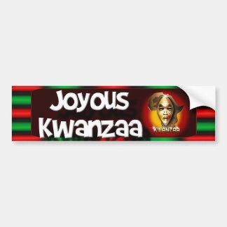 Kwanzaa Bumper Sticker