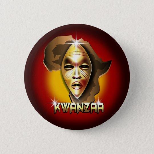 Kwanzaa Button