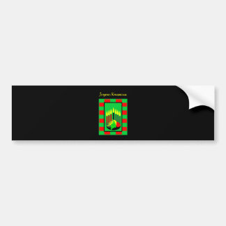 Kwanzaa Candles and Colorful Fruit Bowl Bumper Sticker