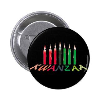 Kwanzaa Candles Pin