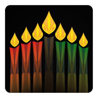 kwanzaa candles card