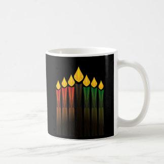 kwanzaa candles coffee mug