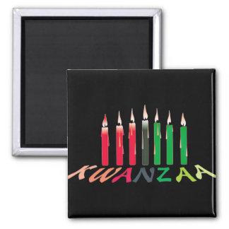 Kwanzaa Candles Refrigerator Magnet