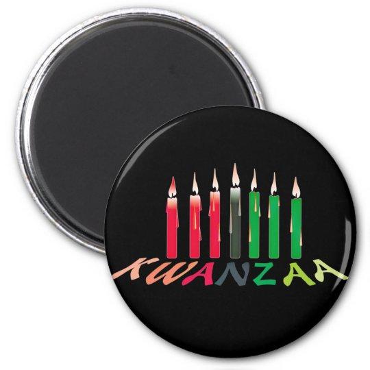 Kwanzaa Candles Magnet