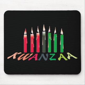 Kwanzaa Candles Mouse Pad
