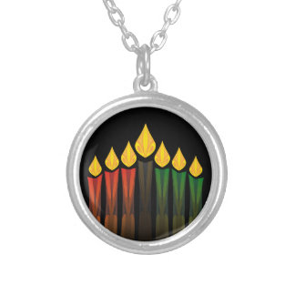 kwanzaa candles pendants