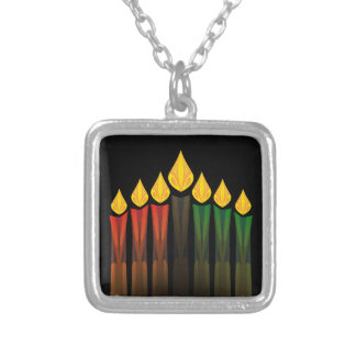kwanzaa candles necklace