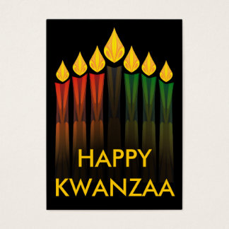 kwanzaa candles party invitations