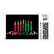 Kwanzaa Candles Postage