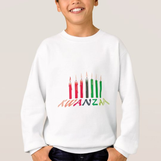 Kwanzaa Candles Sweatshirt