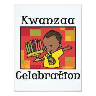 Kwanzaa Celebration boy Card