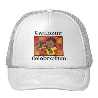 Kwanzaa Celebration boy Mesh Hats