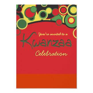 Kwanzaa Celebration Party Invitations