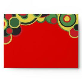 Kwanzaa Colors Envelopes envelope