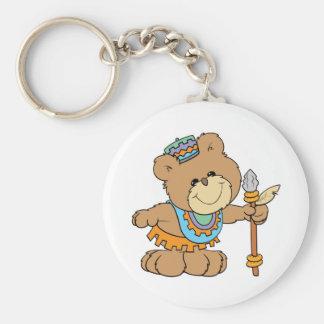 KWANZAA cute teddy bear design Keychain