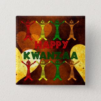 Kwanzaa Dancers Button