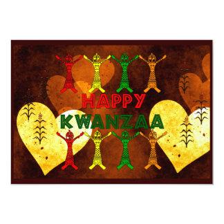 Kwanzaa Dancers Card