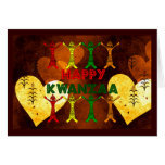 Kwanzaa Dancers Cards