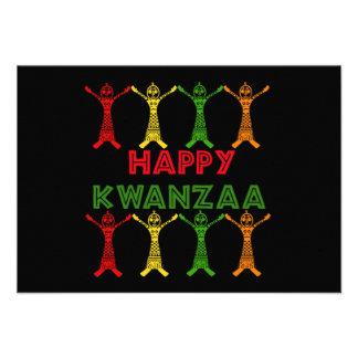 Kwanzaa Dancers Personalized Announcement