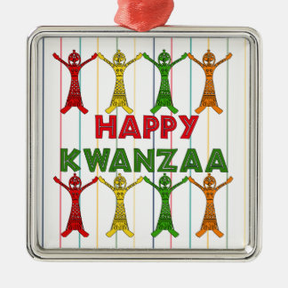 Kwanzaa Dancers Metal Ornament