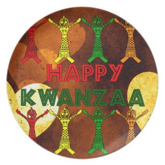 Kwanzaa Dancers Plate