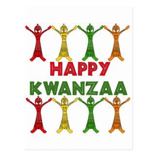 Kwanzaa Dancers Postcard