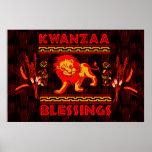 Kwanzaa Dancers Poster