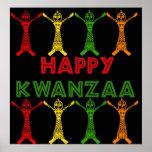 Kwanzaa Dancers Posters