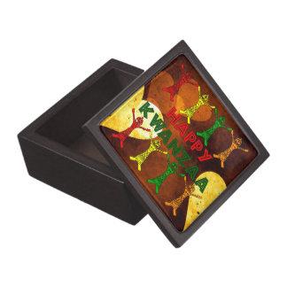 Kwanzaa Dancers Premium Keepsake Box