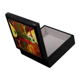Kwanzaa Dancers Trinket Boxes