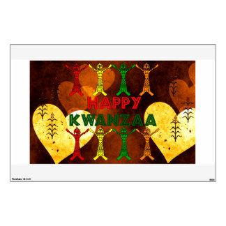 Kwanzaa Dancers Wall Sticker