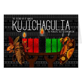 Kwanzaa Day 2 Kujichagulia Self Determination Card