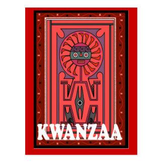 Kwanzaa - efigie tribal postal