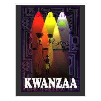 Kwanzaa - expedición de la familia postal