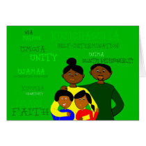Kwanzaa Family Card