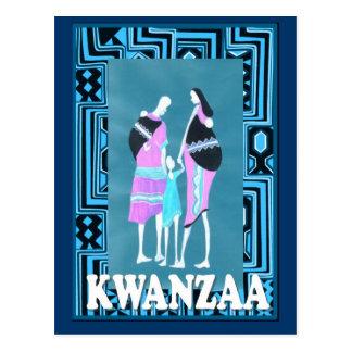 Kwanzaa - Family group Postcard